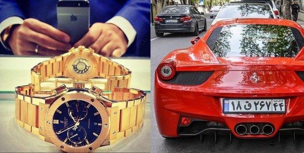 Bogaci Irańczycy dzielą się zdjęciami swojego luksusowego życia