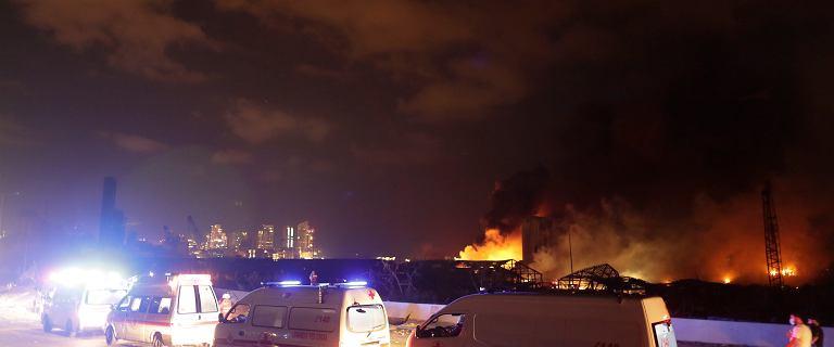 Amerykański ekspert: Eksplozja w Bejrucie mogła mieć siłę nawet 240 ton trotylu