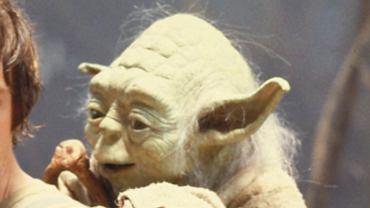 """Luke Skywalker i Yoda, """"Gwiezdne wojny: Imperium kontratakuje"""""""