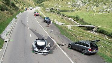 Wypadek Szwajcaria