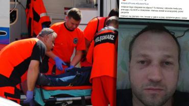 Pobicie ratownika medycznego w Wołominie