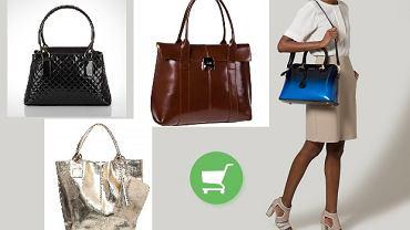 Lakierowane torby - przegląd ponadczasowych torebek damskich