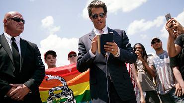 Milo Yiannopoulos, celebryta altprawicy i gwiazda portalu Breitbart.com, który przyczynił się do zwycięstwa Trumpa