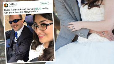 Llia i Phil mieli iść razem na ślub. I poszli - na swój własny