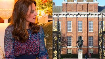 Księżna Kate, pałac Kensington