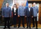 Spotkanie szefów lubuskiej i brandenburskiej policji. Jednym z tematów szczyt NATO