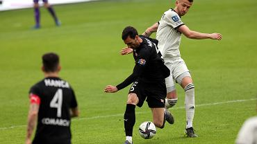 Ivan Marquez w meczu Cracovia - Legia Warszawa