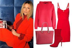 ubrania w kolorze czerwonym / mat. partnera