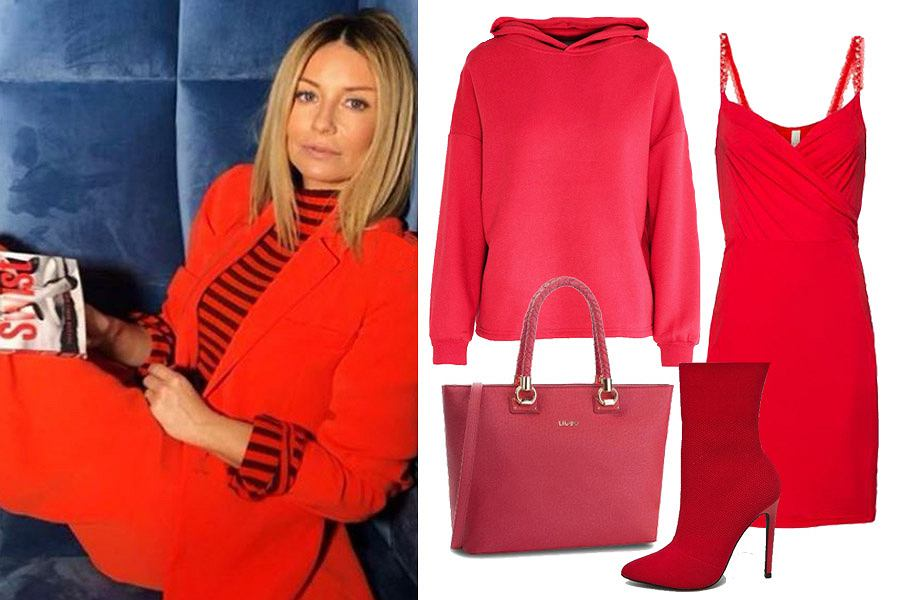 c865c06bc5d4 Gwiazdy tej jesieni stawiają na czerwień! Oto 36 najładniejszych ubrań i  dodatków w tym kobiecym kolorze