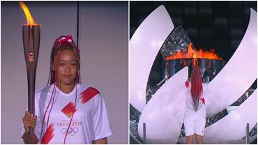 Znicz olimpijski w Tokio zapłonął. Zapaliła go Naomi Osaka