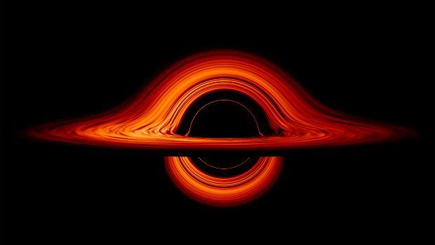 Tak wygląda czarna dziura - wizualizacja