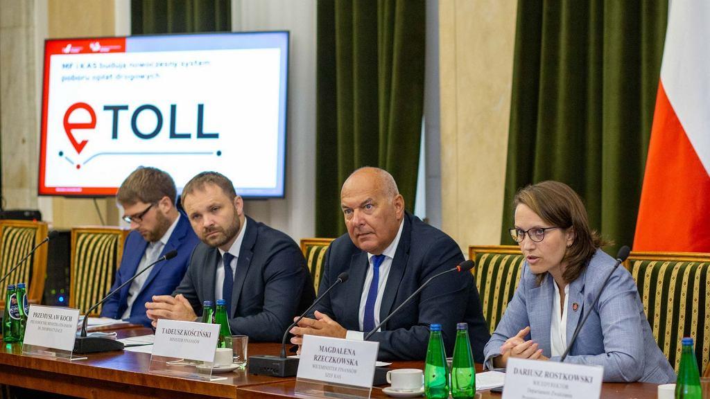 Konferencja w Ministerstwie Finansów