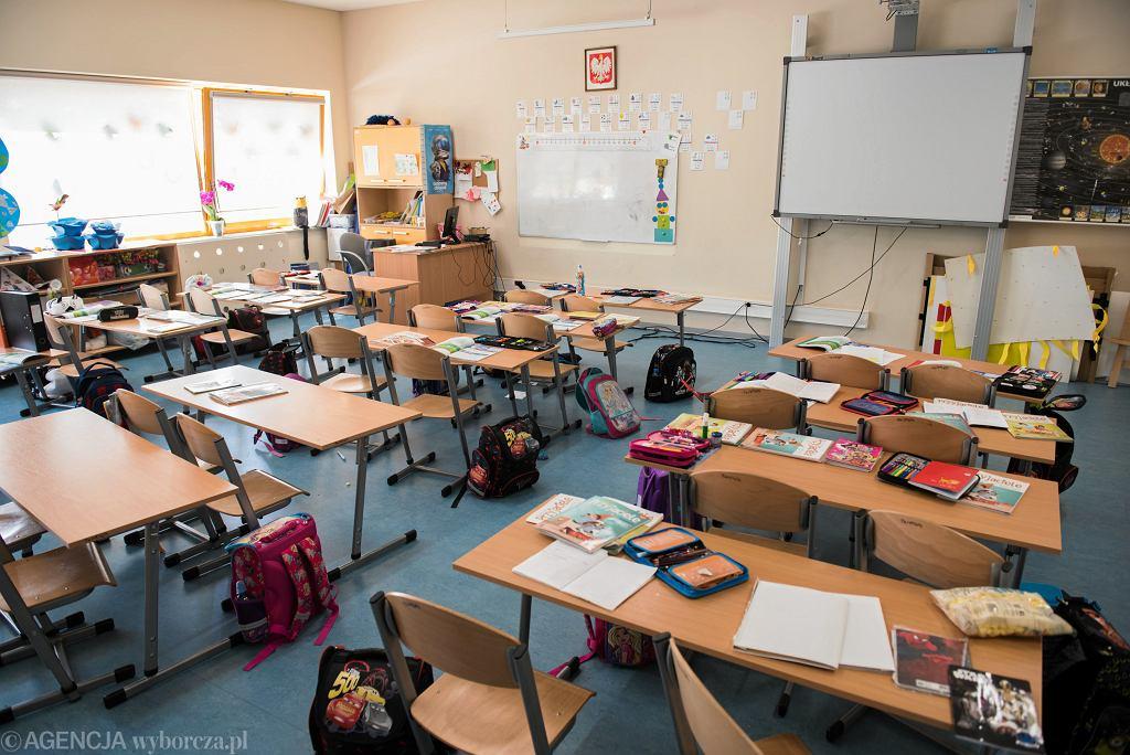 Szkoła podczas epidemii