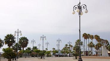 Cypr: Larnaka. Promenada miejska