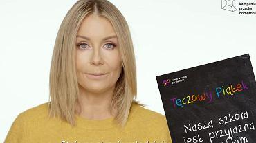 Tęczowy piątek. Małgorzata Rozenek-Majdan we wzruszającym wideo promocyjnym