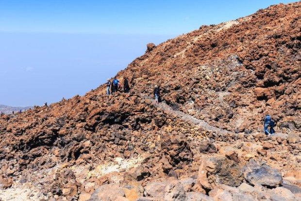 Wędrówka na wulkan El Teide