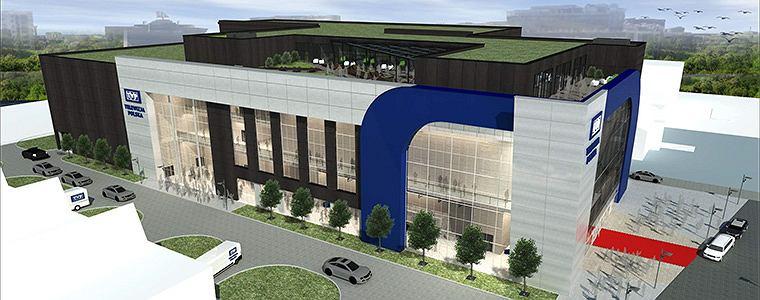 Wizualizacja nowego budynku TVP