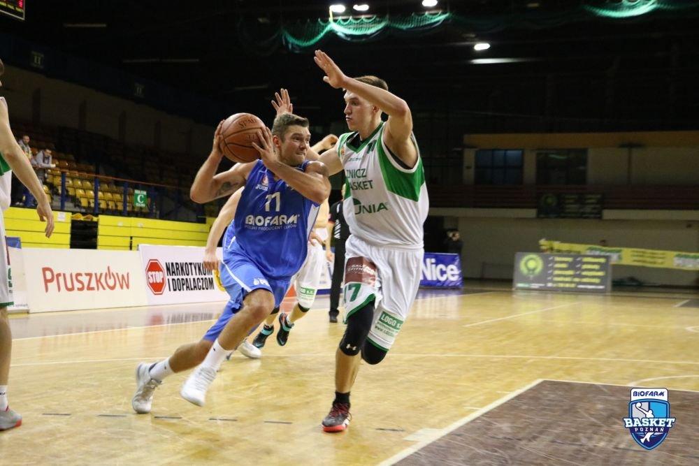 Mecz Basketu Poznań ze Zniczem Pruszków