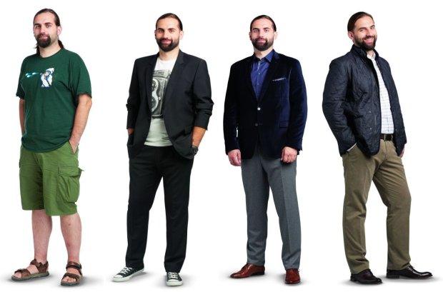Metamorfozy: nowy styl Łukasza