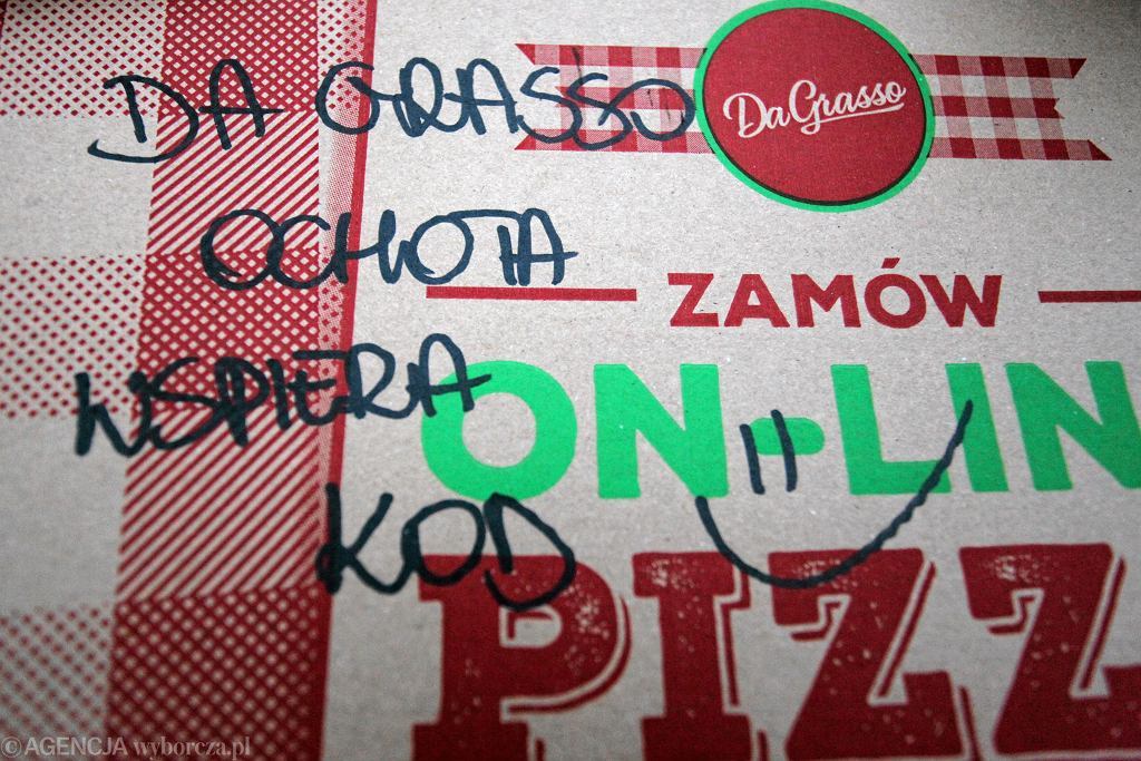 Pudełko po pizzy