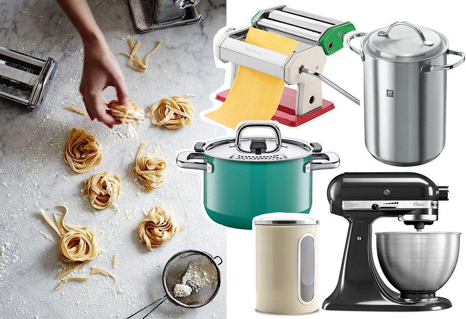 Kuchnia we włoskim stylu - akcesoria do makaronu