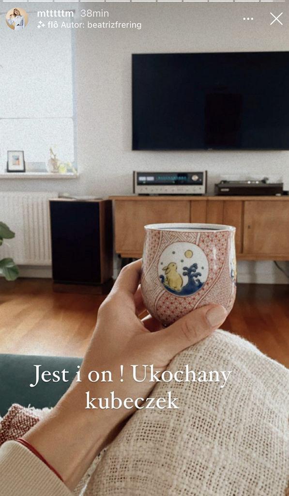 Marta Wierzbicka pokazała fragment nowego mieszkania