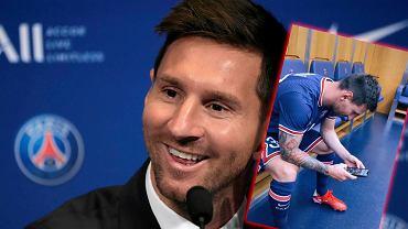 Messi powitany w PSG
