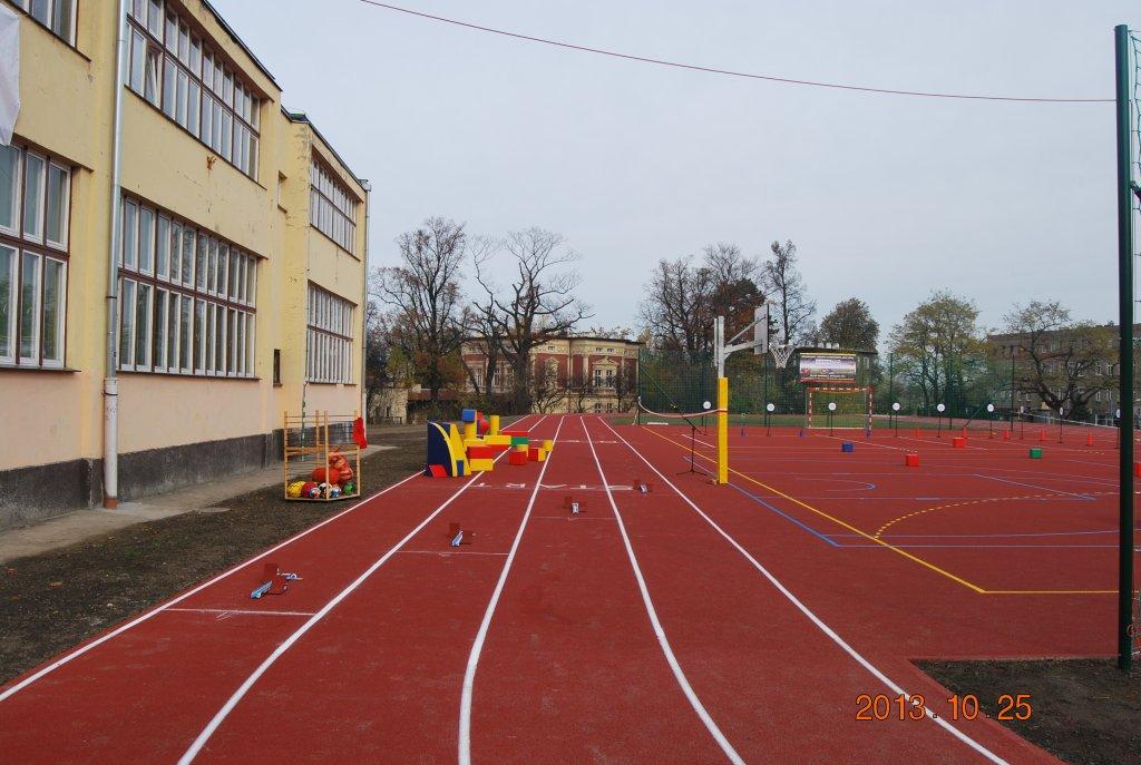 Stadion w Żarowie - inwestycja w ramach Dolny Śląsk dla Królowej Sportu
