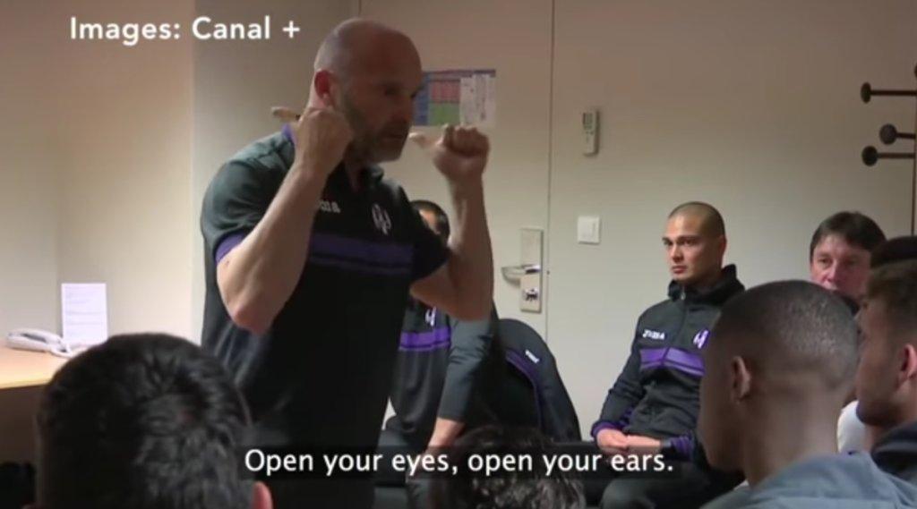 Trener Tuluzy motywuje zawodników przed meczem o utrzymanie