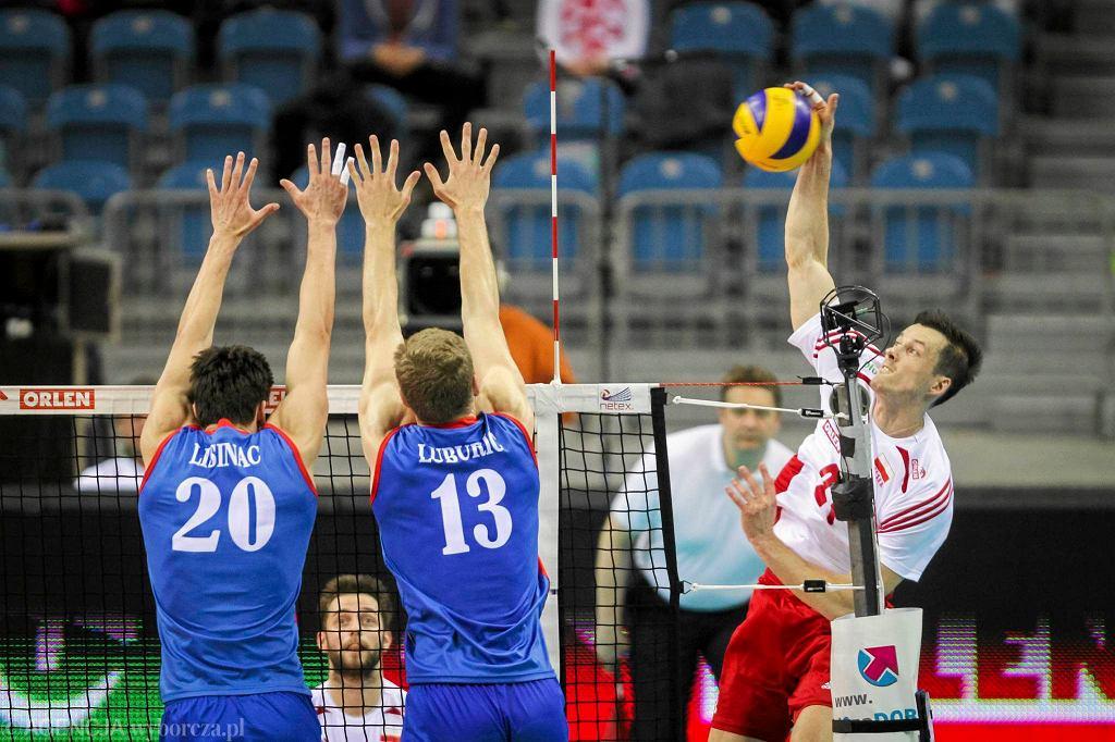 Memorial Huberta Wagnera mecz Polska - Serbia