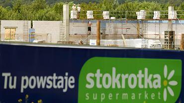 Budowa sklepu Stokrotka