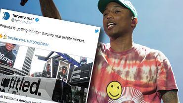Pharrell Williams inwestuje w nieruchomości w Toronto