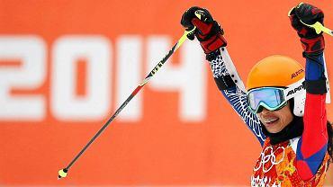 Vanessa Mae zajęła ostatnie miejsce w w slalomie gigancie podczas igrzysk olimpijskich w Soczi