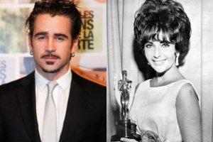 Colin Farrell i Elizabeth Taylor
