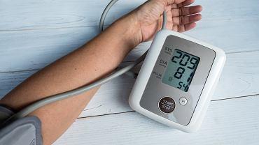 Nadciśnienie tętnicze wtórne jest wywołane innym schorzeniem