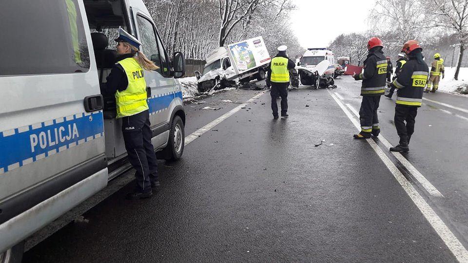 Na DK 14 doszło do śmiertelnego wypadku. Zginęły dwie osoby