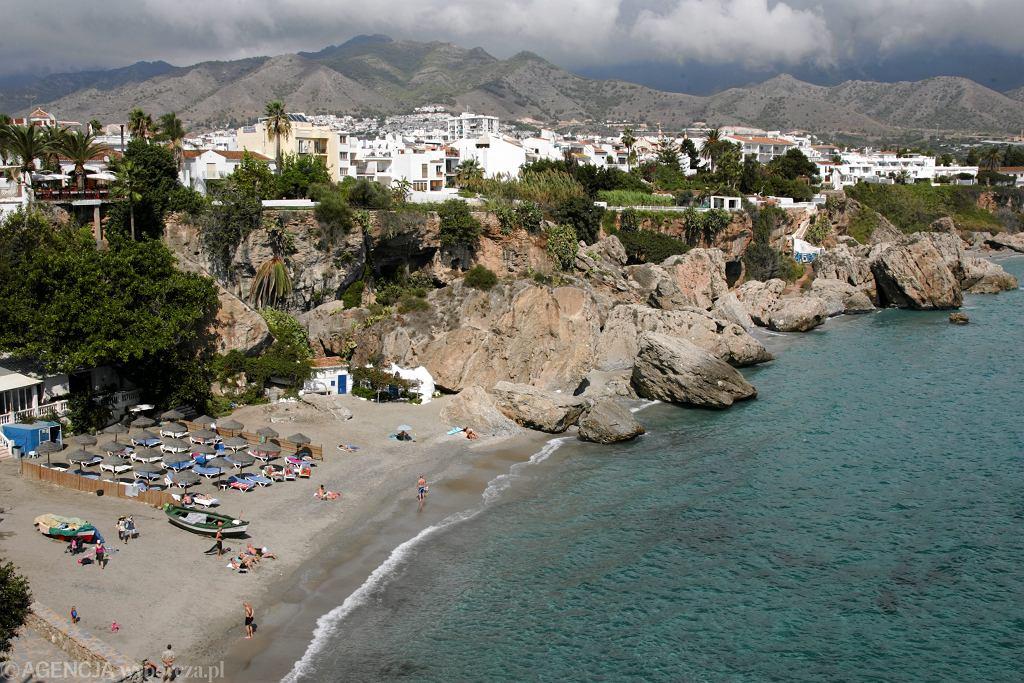 Plaża w Hiszpanii - zdjęcie ilustracyjne