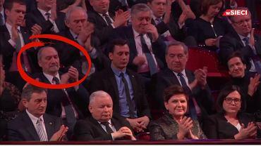 Antoni Macierewicz na gali tygodnika 'wSieci'