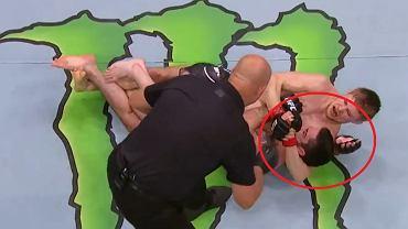 Efektowne poddanie na gali UFC w Waszyngtonie