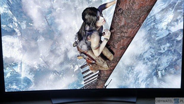 LG EG910V OLED - gry Tomb Raider