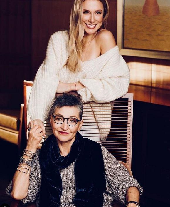 Joanna Klimas z córką Natalią Klimas-Bober