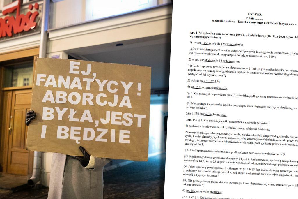 Projekt radykalnego zakazu aborcji trafił do Sejmu
