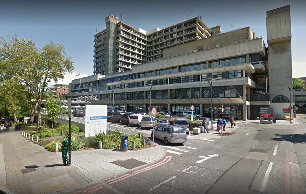 Royal Free Hospital w Londynie