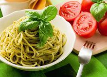 Spaghetti z pesto z pietruszki - ugotuj