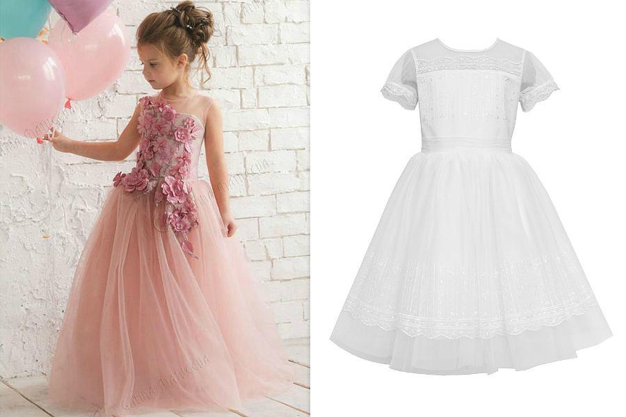 78c4a69661 Sukienki dla dziewczynek - modele na specjalne okazje