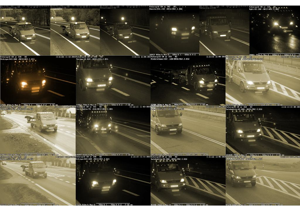 Seria przekroczeń prędkość zakończona serią mandatów