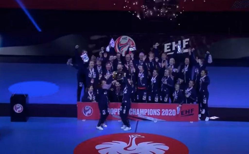 Norweżki wygrały mistrzostwa Europy w piłce ręcznej