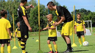 Trening zorganizowany przez Borussię Dortmund w Goczałkowicach
