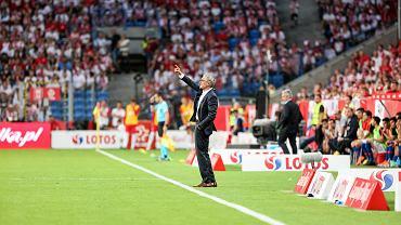 Adam Nawałka. Mecz Polska - Chile
