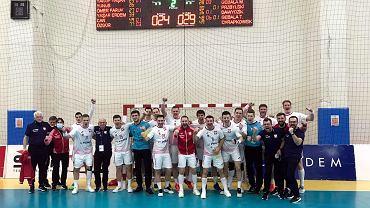 Reprezentacja Polski piłkarzy ręcznych po wyjazdowym meczu z Turcją, w ramach  eliminacji do mistrzostw Europy